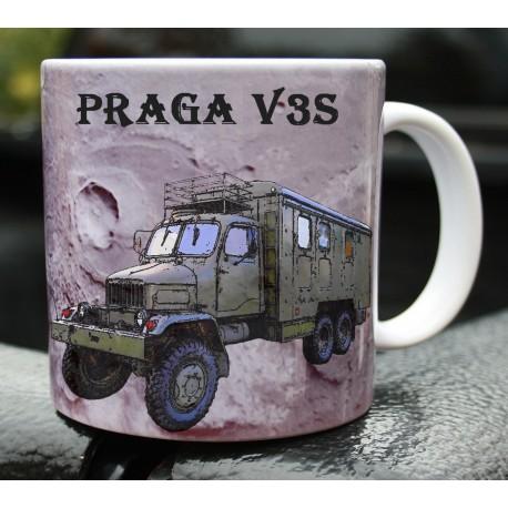 Hrneček armáda Praga V3S skříň