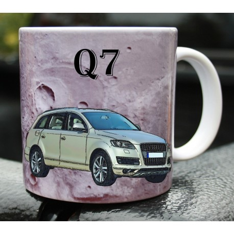 Hrneček auto Audi Quattro Q7 2011