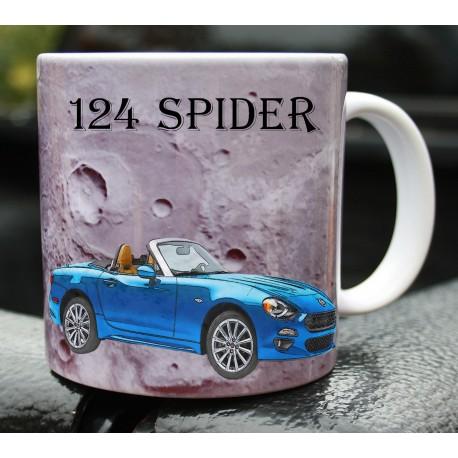 Hrneček auto Fiat 124 Spider 2017
