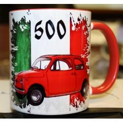Hrneček auto Fiat 500 - 2