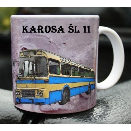 Hrneček autobus Karosa ŠL 11