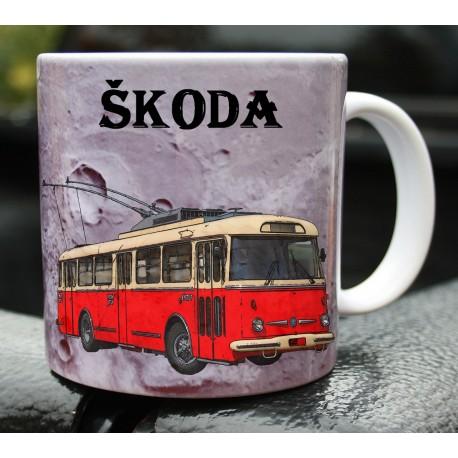 Hrneček trolejbus Škoda