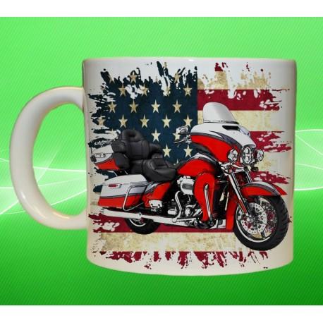 Foto hrneček motocykl Harley Davidson - 1
