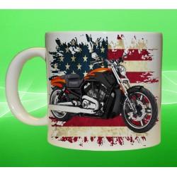Foto hrneček motocykl Harley Davidson - 2