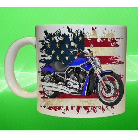 Foto hrneček motocykl Harley Davidson - 3