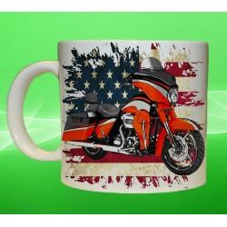 Foto hrneček motocykl Harley Davidson - 4