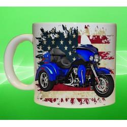 Foto hrneček motocykl Harley Davidson - 5