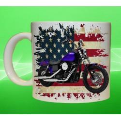 Foto hrneček motocykl Harley Davidson - 6