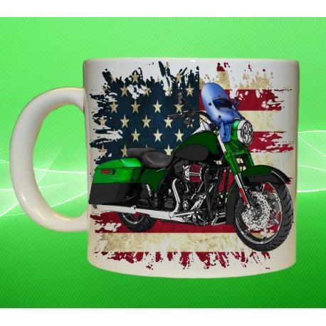 Foto hrneček motocykl Harley Davidson - 7