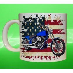 Foto hrneček motocykl Harley Davidson - 8