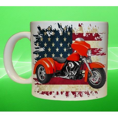 Foto hrneček motocykl Harley Davidson - 9