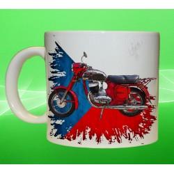 Foto hrneček motocykl Jawa 250 - 353