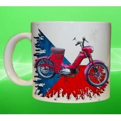 """Foto hrneček motocykl Jawa 550 """"Pařez"""""""