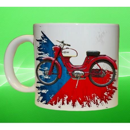 Foto hrneček motocykl Jawa Moped II