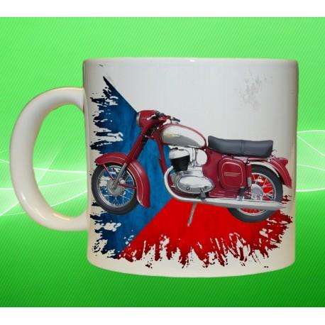 Foto hrneček motocykl Jawa 250 - 559