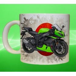 Foto hrneček motocykl Kawasaki Ninja ZX 6R