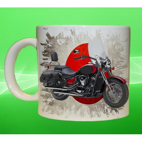 Foto hrneček motocykl Kawasaki Vulcan 900 Classic