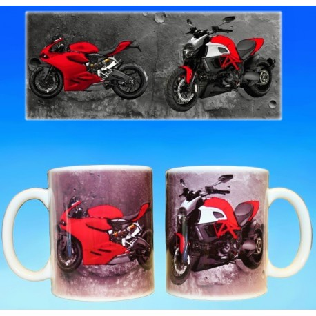 Foto hrneček motocykl DUCATI - 3