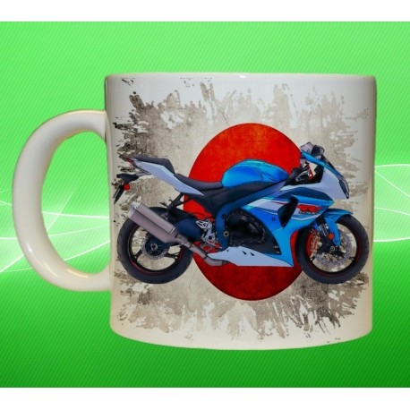 Foto hrneček motocykl Suzuki GSX R1000