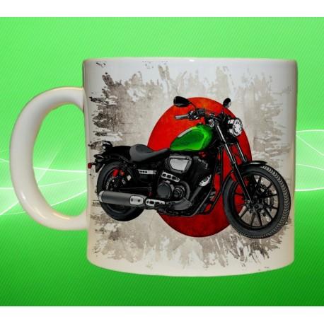 Foto hrneček motocykl Yamaha - 1