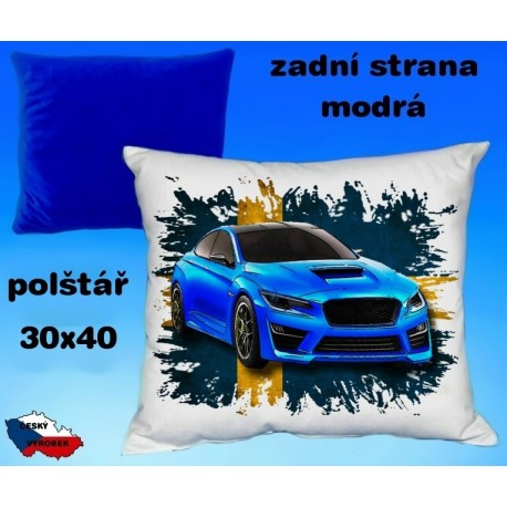 Polštářek auto SUBARU IMPREZA WRC