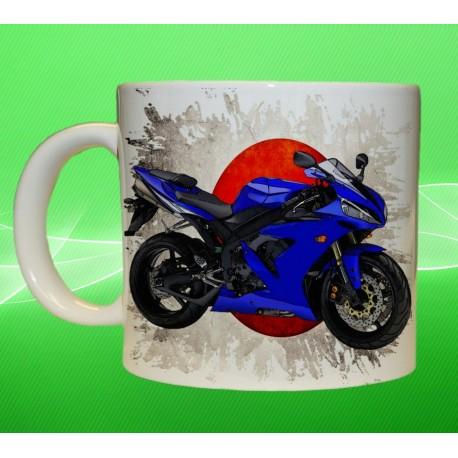 Foto hrneček motocykl Yamaha - 2