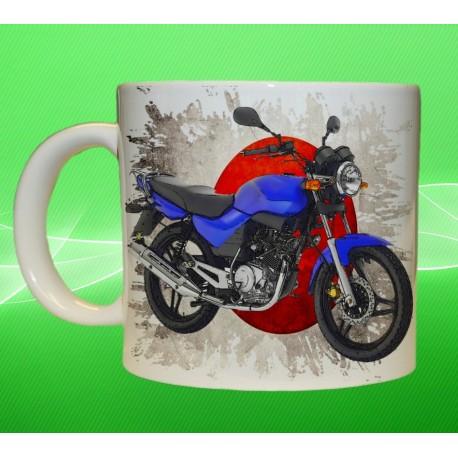 Foto hrneček motocykl Yamaha YBR 125