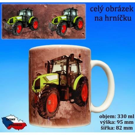 Foto hrneček traktor Claas