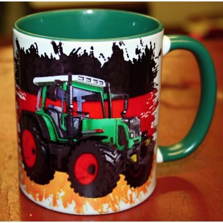 Foto hrneček traktor FENDT