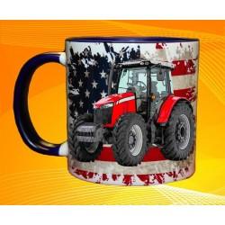 Foto hrneček traktor MASSEY FERGUSON 6713R