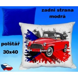 Polštářek auto ŠKODA OCTAVIA veterán