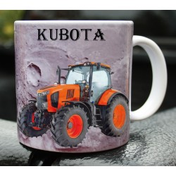 Foto hrneček traktor KUBOTA