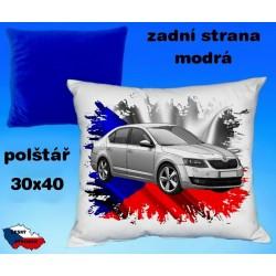 Polštářek auto ŠKODA OCTAVIA 2013