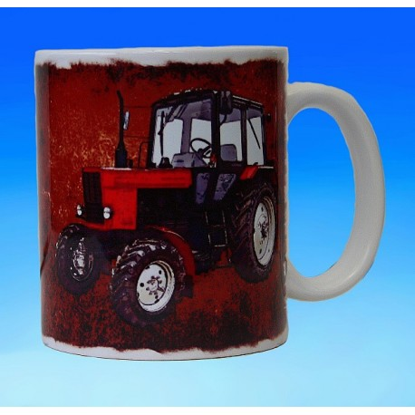 Foto hrneček traktor Belarus