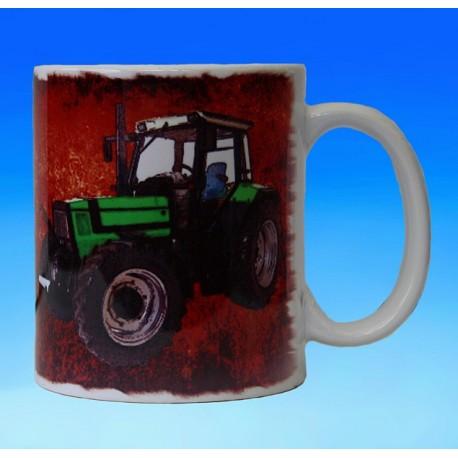 Foto hrneček traktor DEUTZ FAHR - 2