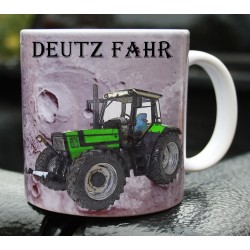 Foto hrneček traktor DEUTZ FAHR - 3