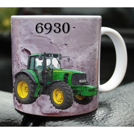 Foto hrneček traktor John Deere 6930
