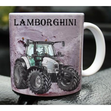 Foto hrneček traktor Lamborghini - 2