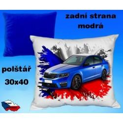 Polštářek auto ŠKODA OCTAVIA RS