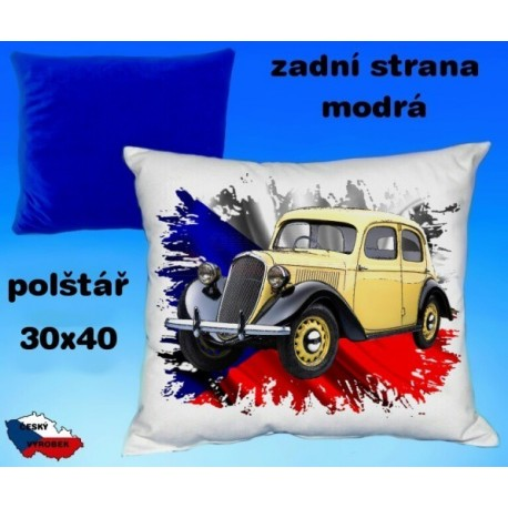 Polštářek auto ŠKODA RAPID 1935