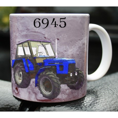 Foto hrneček traktor Zetor 6945