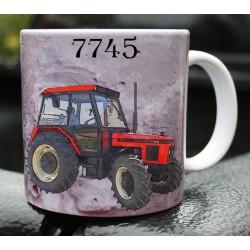 Foto hrneček traktor Zetor 7745