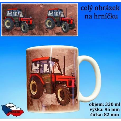 Foto hrneček traktor Zetor 7745 - 2