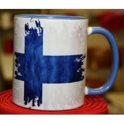 Foto hrneček vlajka Finsko