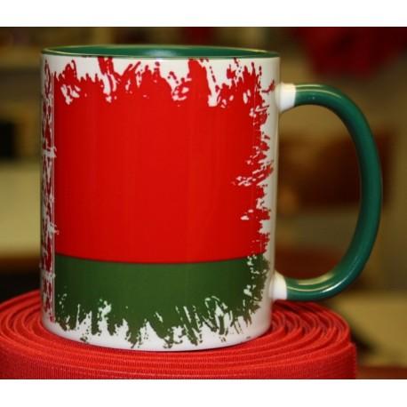 Foto hrneček vlajka Bělorusko