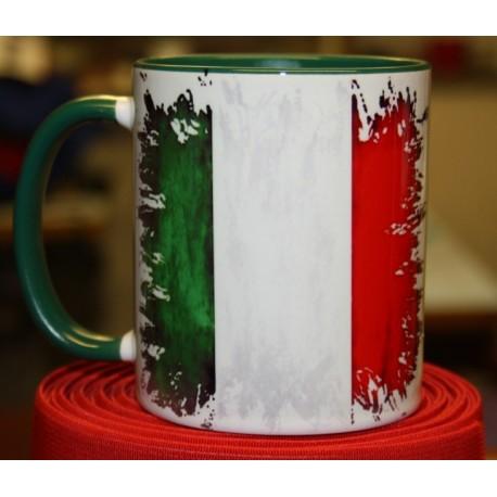 Foto hrneček vlajka Itálie
