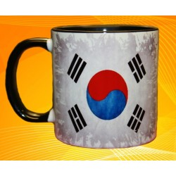 Foto hrneček vlajka Jižní Korea