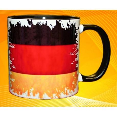 Foto hrneček vlajka Německo