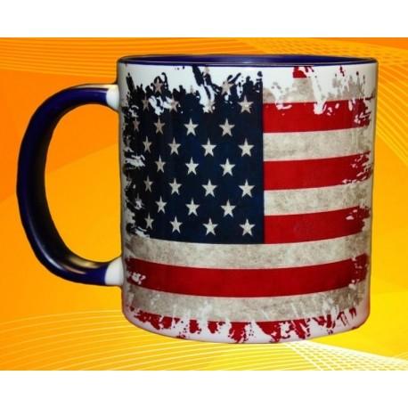 Foto hrneček vlajka Spojené státy americké - USA
