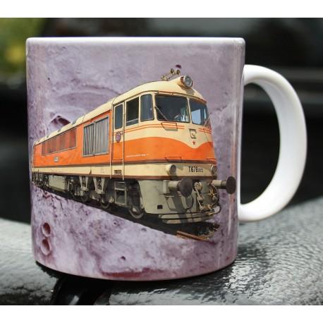 Foto hrneček železnice - 2
